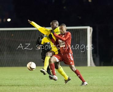 Bengals Michael Beggs in action (yellow kit)
