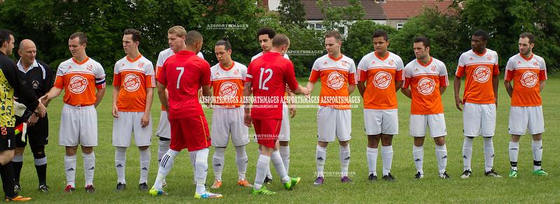 FC HAMLETS 4-1 VITTORIOSA FALCONS (East Ham Cup)