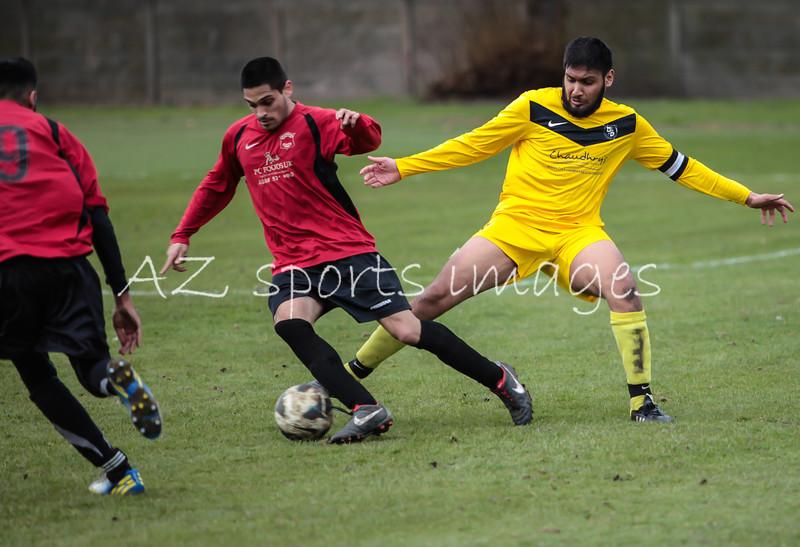 Red Star's Ramiz turns away from FC L captain Omz Bashir
