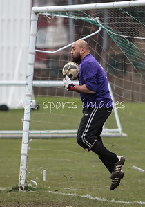 Amjid Bashir makes a save