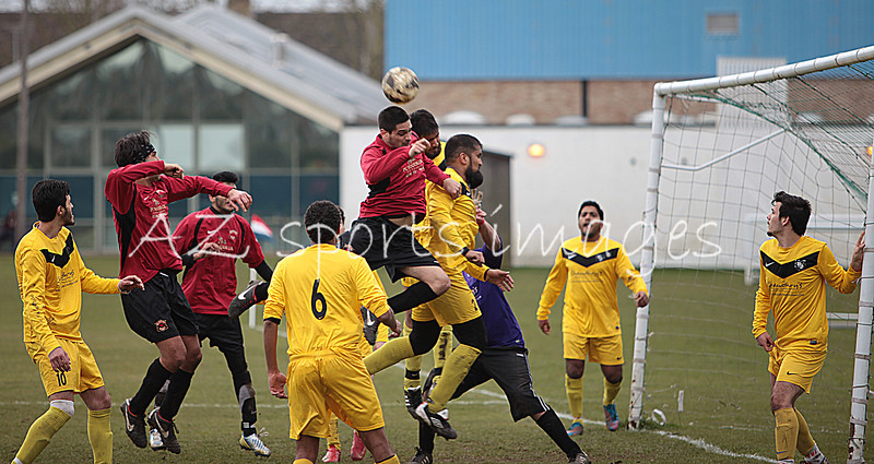 Ramiz attacks the FC L defence