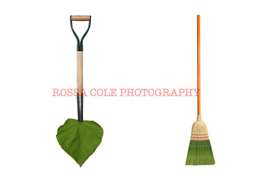 Green Jobs Shovel and Broom
