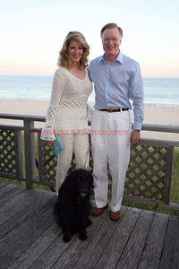 Ellen and Chuck Scarborough with Oliver