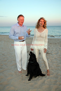 Ellen and Chuck Scarborough with Oliver 3