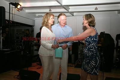 Ellen and Chuck Scarborough, Sara Davison