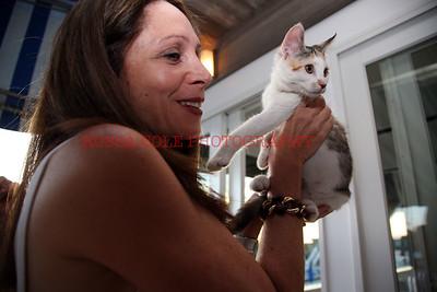 Gale Drukier with kitten 2