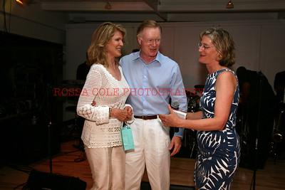 Ellen and Chuck Scarborough, Sara Davison 2