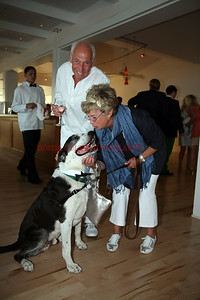 """Carole Taylor and Monty Yokel with """"Jeeves"""""""