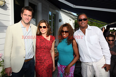 Peter Hermann,Mariska Hargitay, Starr Jones, Herb Wilson