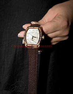 Carl F. Bucherer Patravi T-24, 18K Rose Gold with Diamonds, Mother of Pearl