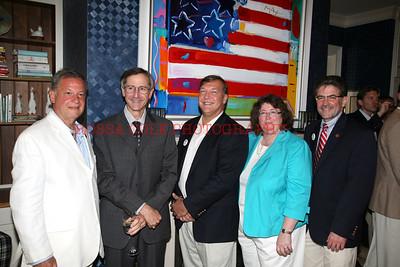 IMG_5603-John Tsunis, Ken Kuschansky, Stanley Samuel, Peg McGovern, Steven Strongwater
