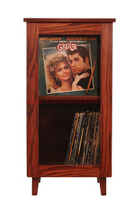 15-Record Cabinet With Grease