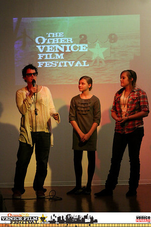 """10.15.09  Other Venice Film Festival Local Maverick Opening Night.  """"The Poker House directed by Lori Petty"""""""