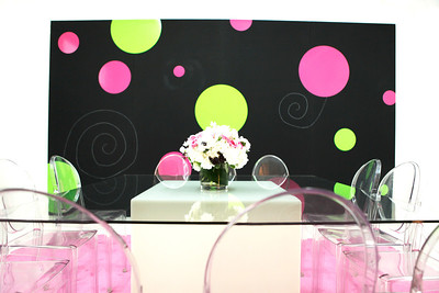 Kotex Media Set Design
