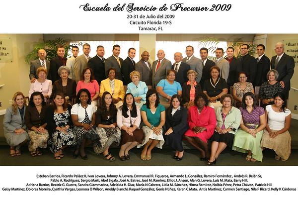 Escuela Precursores Julio 2009