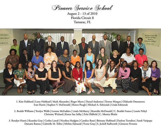 Pioneer School August 2010