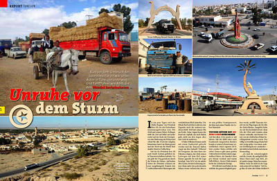 TUNISIA PUBLISHED IN TRUCKER MAGAZINE (GERMANY) 04/2011