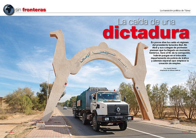 TUNISIA,  PUBLISHED IN SOLO CAMION, 8 PAGES 04/2011