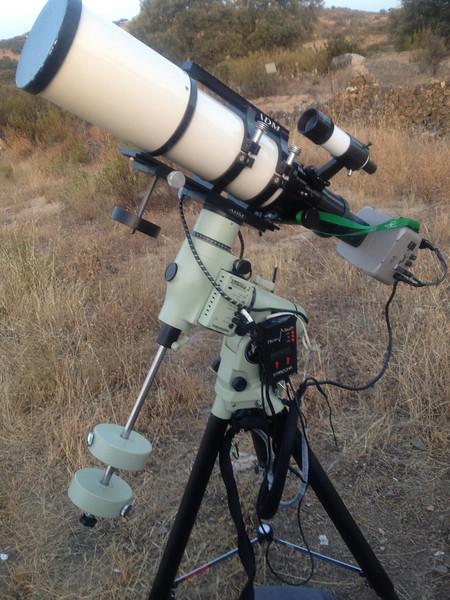 TMB CNCII 130/780 scope.<br /> EM200 Takahashi Mount<br /> STL 11000M C1