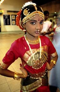 INDIAN DANCER IN KUALA LUMPUR, MALAYSIA