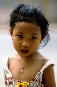 LITTLE LAOTIAN GIRL