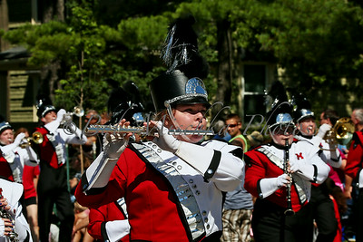 Milton HS marching band_6278