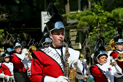 Milton HS marching band_6281