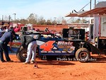 Super Late Models (in pits)   010