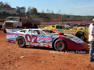 Super Late Models (in pits)   023
