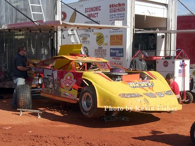 Super Late Models (in pits)   007