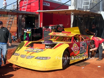Super Late Models (in pits)   027