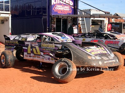 Super Late Models (in pits)   015