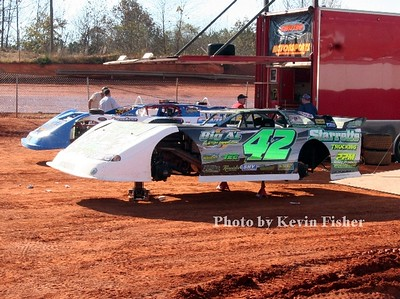Super Late Models (in pits)   003