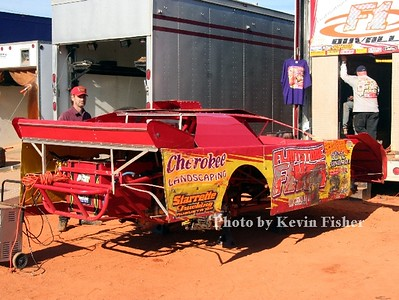 Super Late Models (in pits)   020