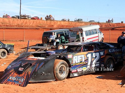 Super Late Models (in pits)   025