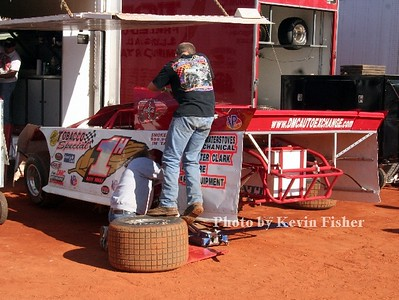 Super Late Models (in pits)   008