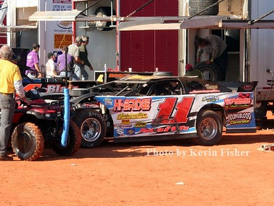 Super Late Models (in pits)   026