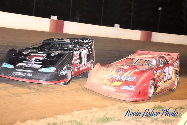 Ultimate Super Late Models in Elm City - 5/17/13