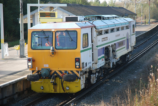 First Engineering - Plasser & Theurer 08-16/4x4C-RT Switch & Crossing Tamper # 73916   Location Bidston   Date 10th Oct 2010