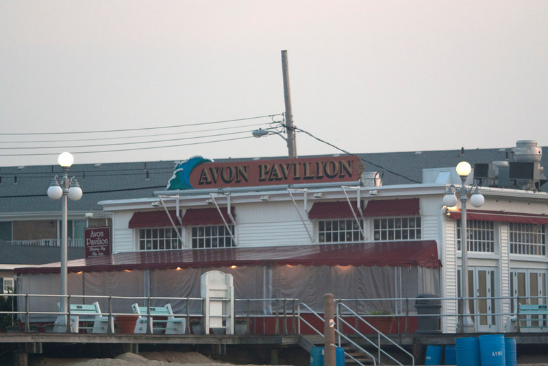 Avon Pavillion - destroyed during Sandy