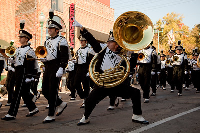 UCM. Ohio University Homecoming 2010. Athens Ohio.