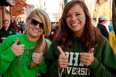 UCM. Ohio University Homecoming 2010. Athens Ohio.