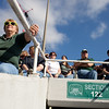 The Ohio Bobcats football team played their homecoming game against Central Michigan at Ohio University in Athens, Ohio on Saturday, October 12, 2013. Photo by Chris Franz