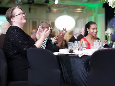 People clap at the Promise Lives Campaign Celebration Gala on Friday, Sept. 11, 2015. Photo by Kaitlin Owens