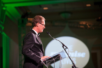 Bryan Benchoff speaks during the Promise Lives Campaign Celebration Gala on Friday, Sept. 11, 2015. Photo by Kaitlin Owens