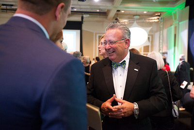 David Wolfort shares a laugh after the Promise Lives Campaign Celebration Gala on Sept. 11, 2015. Photo by Kaitlin Owens