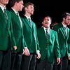 The Singing Men of Ohio perform at the Yell Like Hell Pep Rally. © Ohio University / Photo by Kaitlin Owens