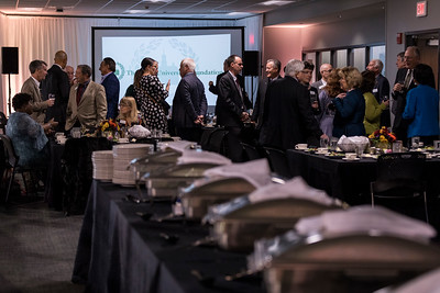 Photo by Max Catalano, BSVC 20'   The Foundation Board of Trustees Dinner in celebration of the opening of the Perry and Sandy Sook building for student athletes on November 9, 2018.
