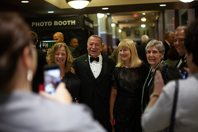 OU Alumni line up for a cell phone picture at the 2018 Alumni Awards Gala. Photo by Ellee Achten