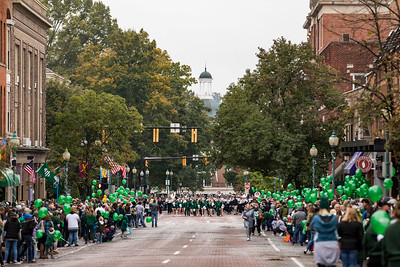 Photo by Max Catalano, BSVC 20'   The Ohio University 2018 Homecoming Parade on October 20.